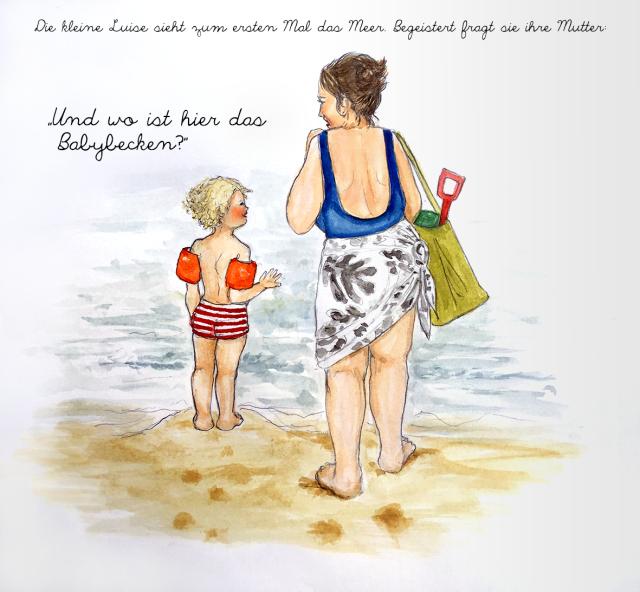 Kindermund_die kleine Luise