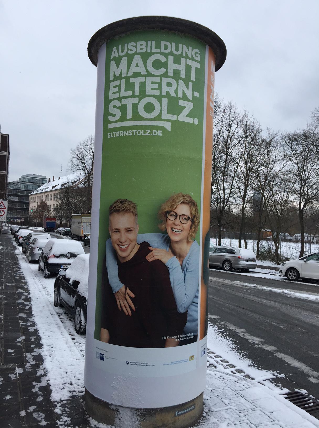 Elternstolz Kampagne