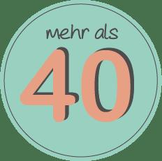 Mehr als 40